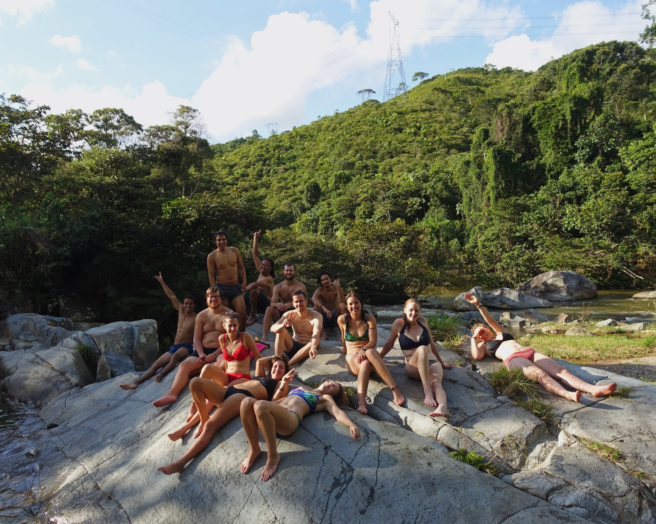 Adventures in the nature surrounding San Carlos, Colombia