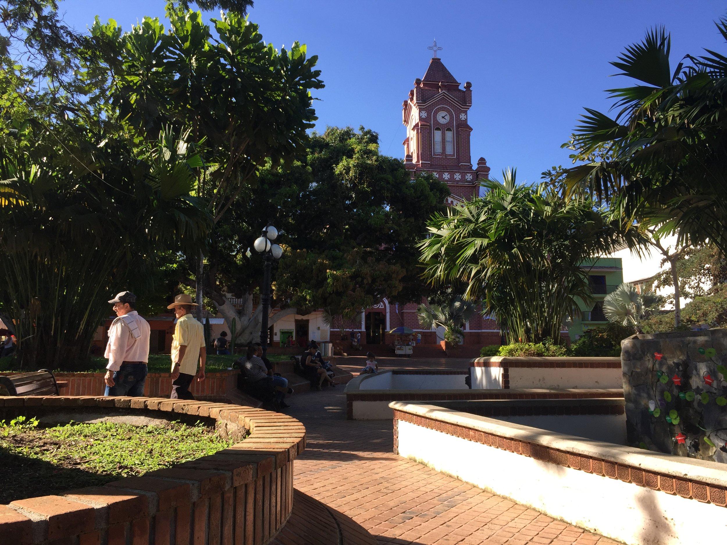 Parque Principal in San Carlos