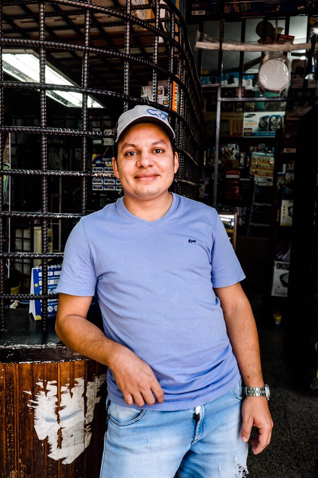 Franklin Usme Gómez - The telephone repairman of San Carlos