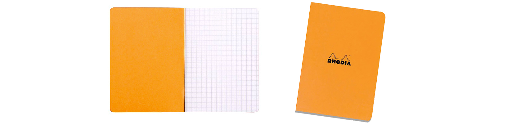 rhodia a5 orange notebook