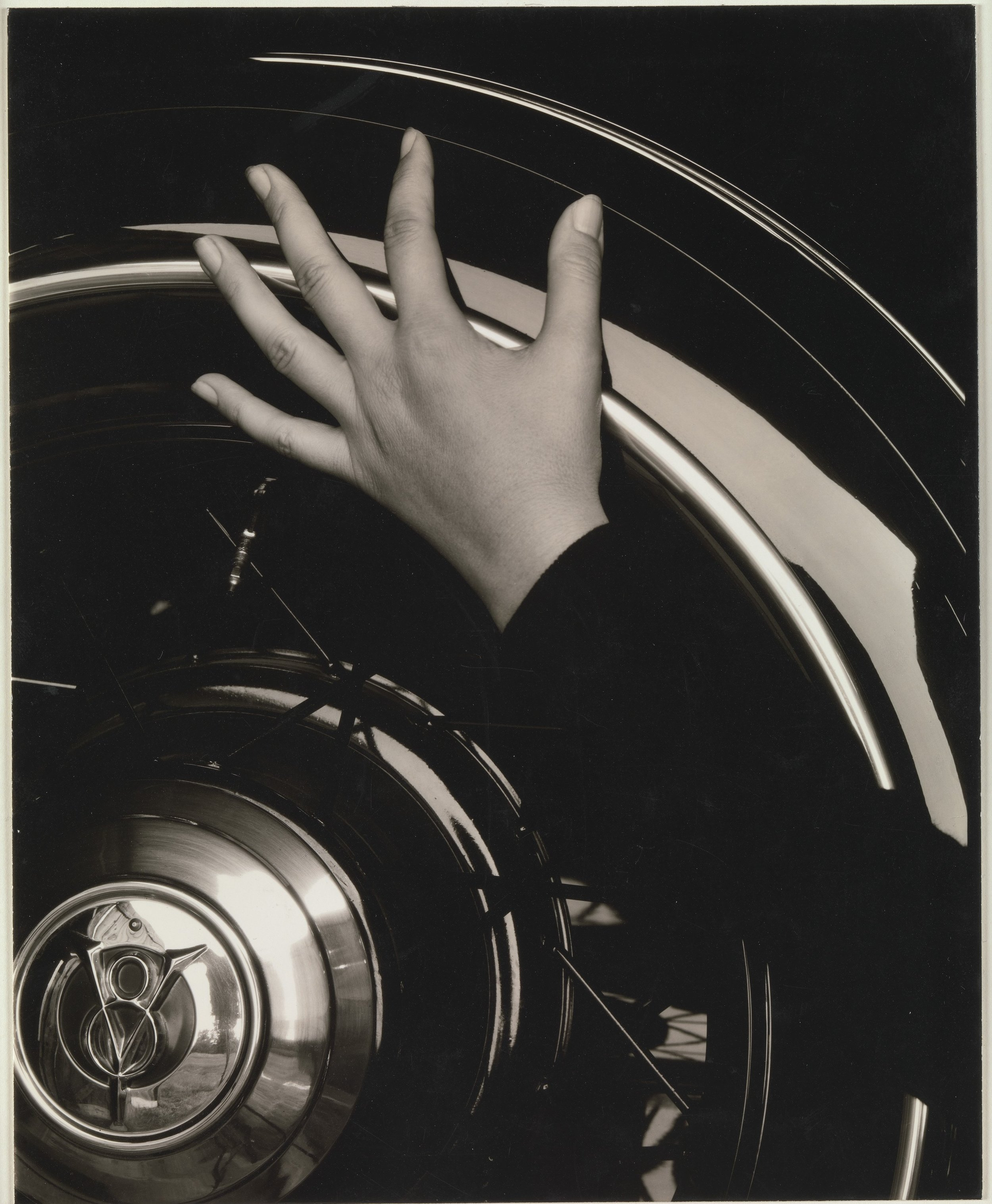 Alfred Stieglitz. Georgia O'Keeffe—Hand and Wheel. 1933. Courtesy of the Metropolitan Museum