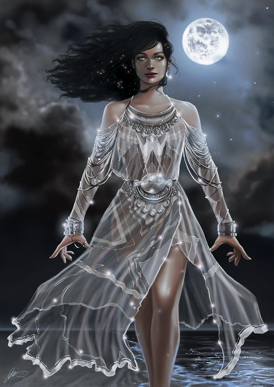 Selûne, the Moon Maiden.