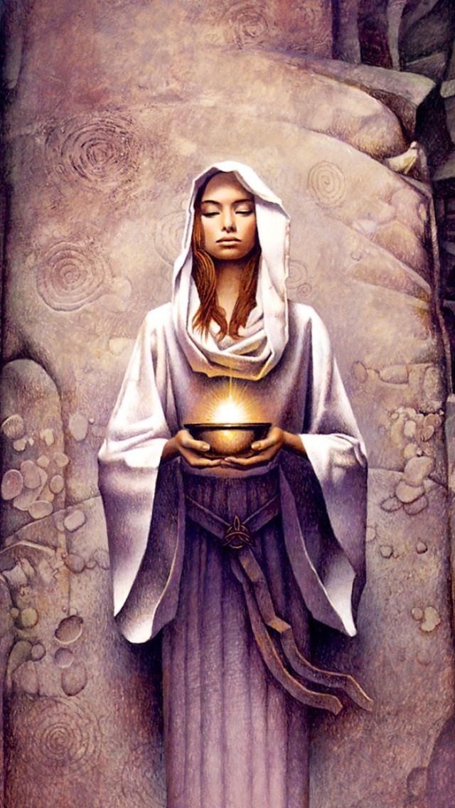 The priestess of Chuntea at the temple graciously accepted my offer and honored me with a prayer of favor in her name.