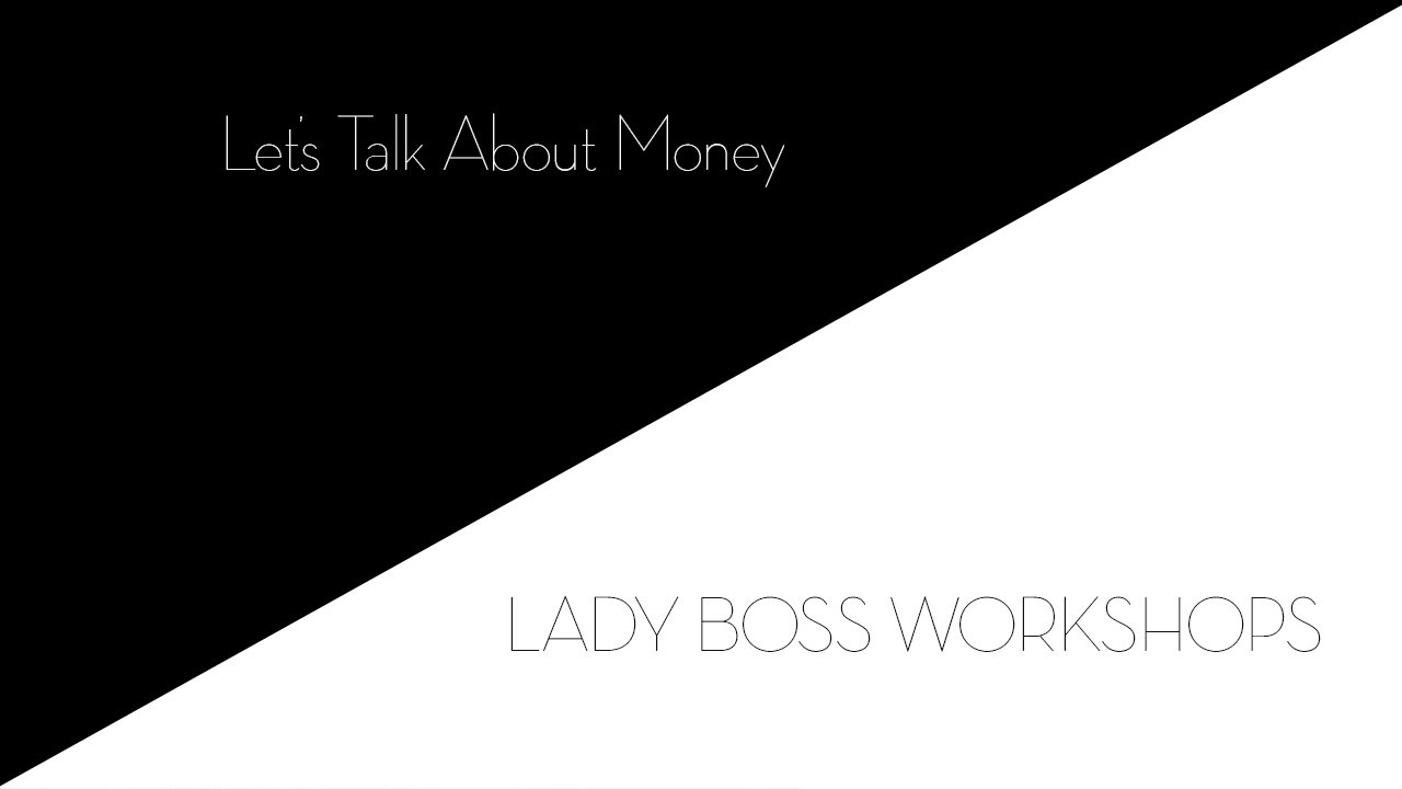lady boss workshops let's talks about money and being okay with making money | Business tips for female photographers and advice for creative entrepreneurs