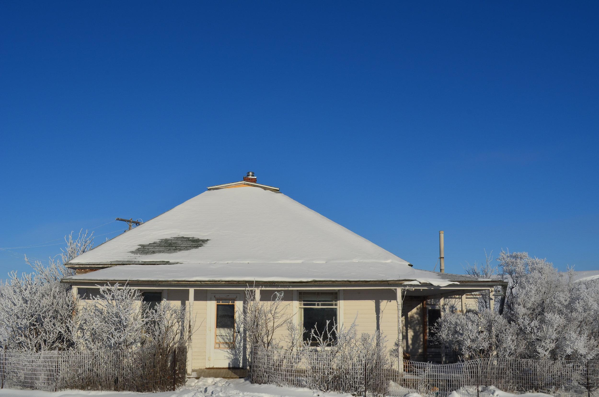 Grandma's House in the Winter