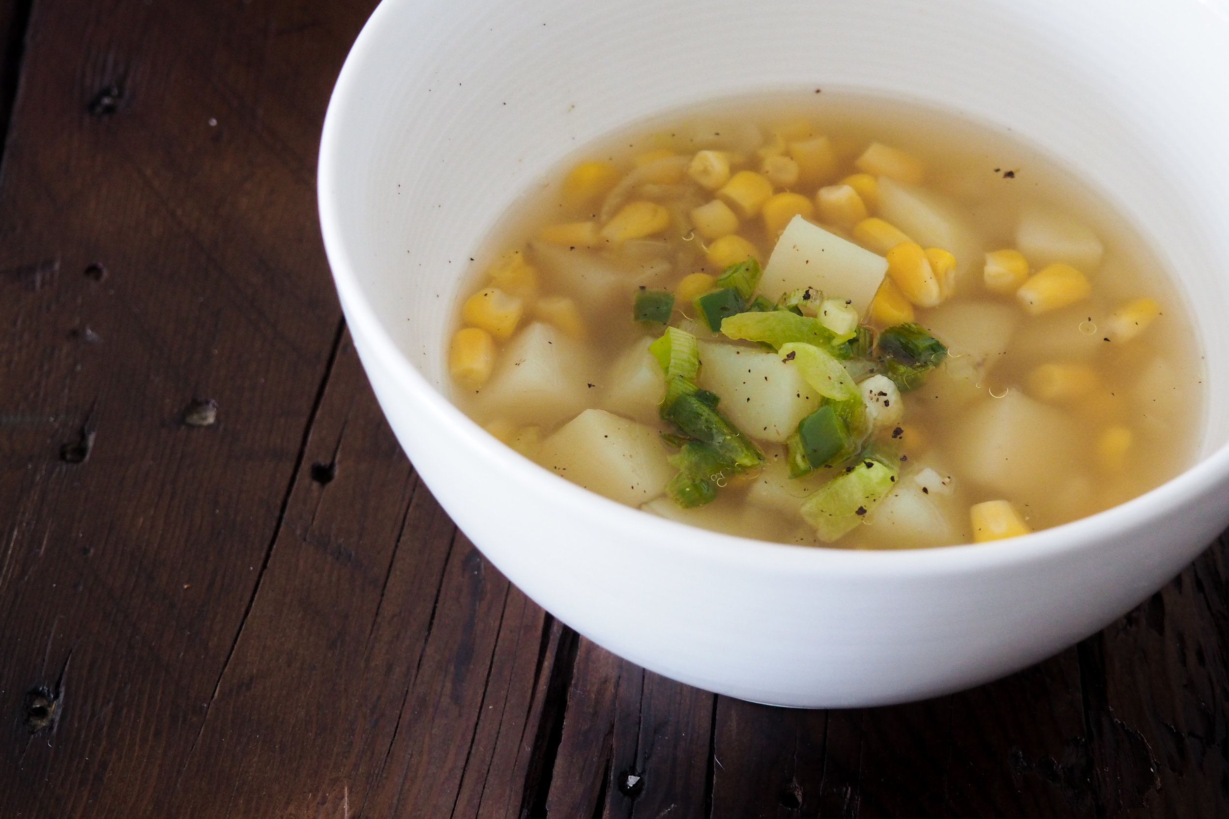 Corn & Potato Chowder