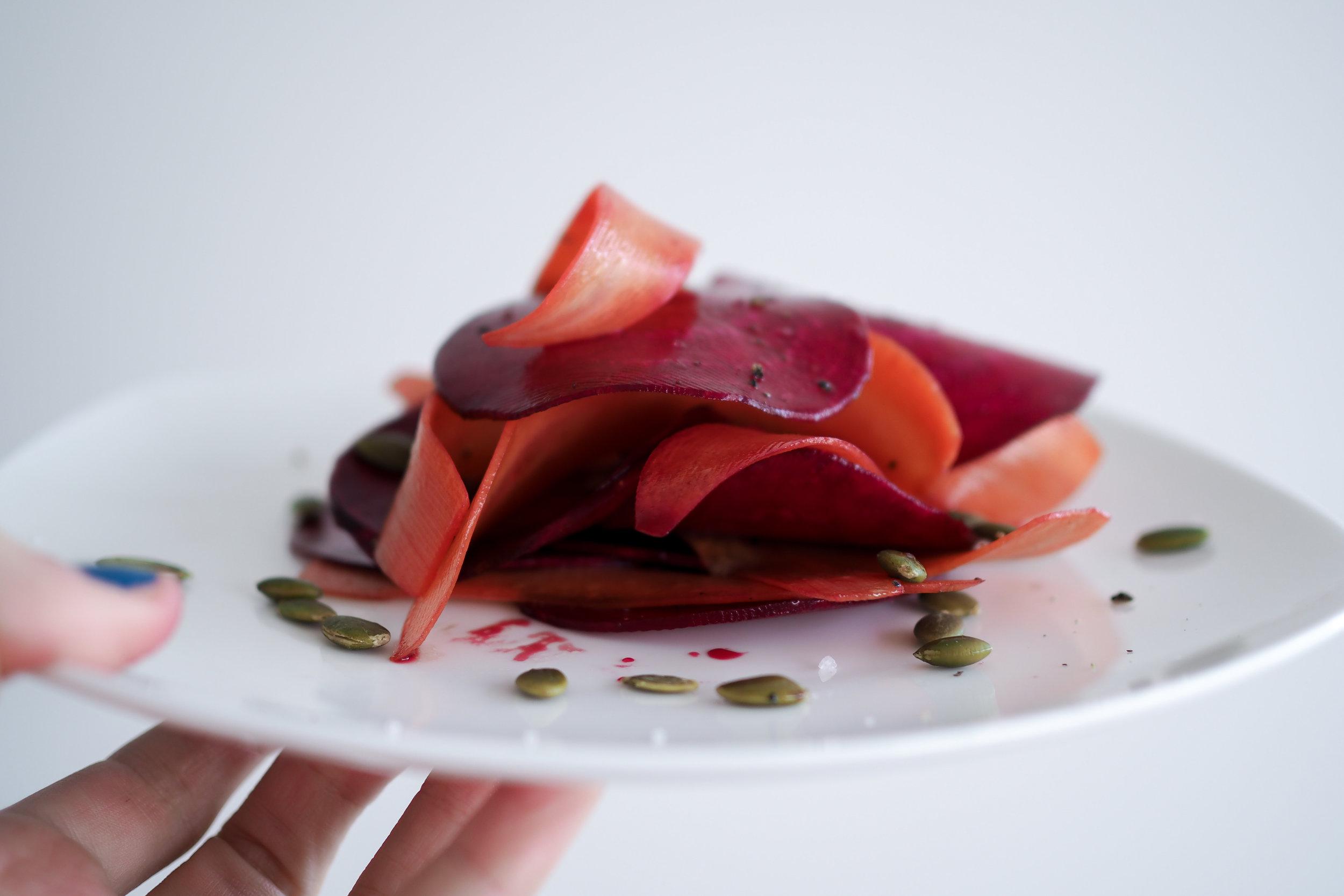 Raw Beet & Carrot Salad Recipe