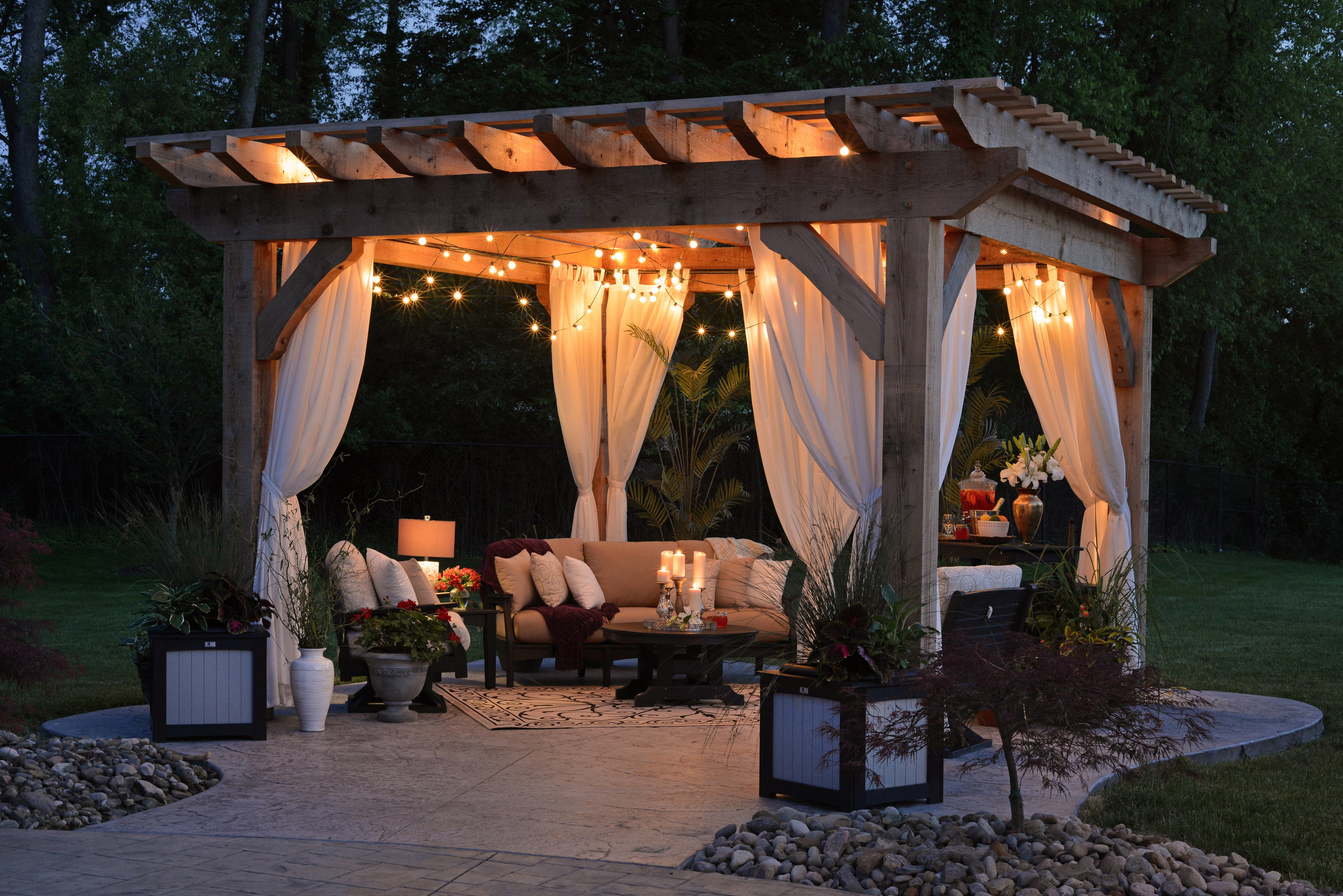 Outdoor Living Spaces -