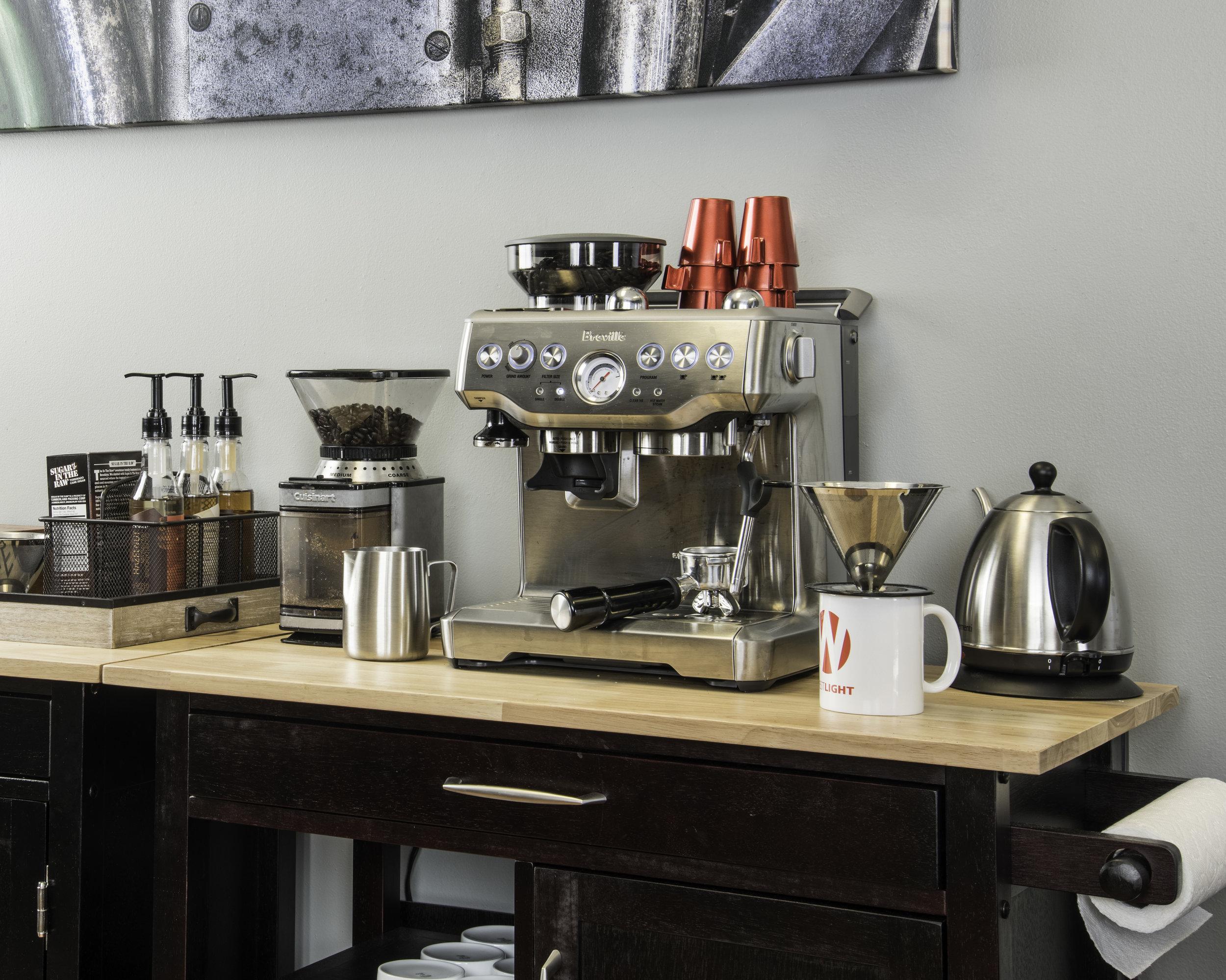 Westlight Studios Coffee Station