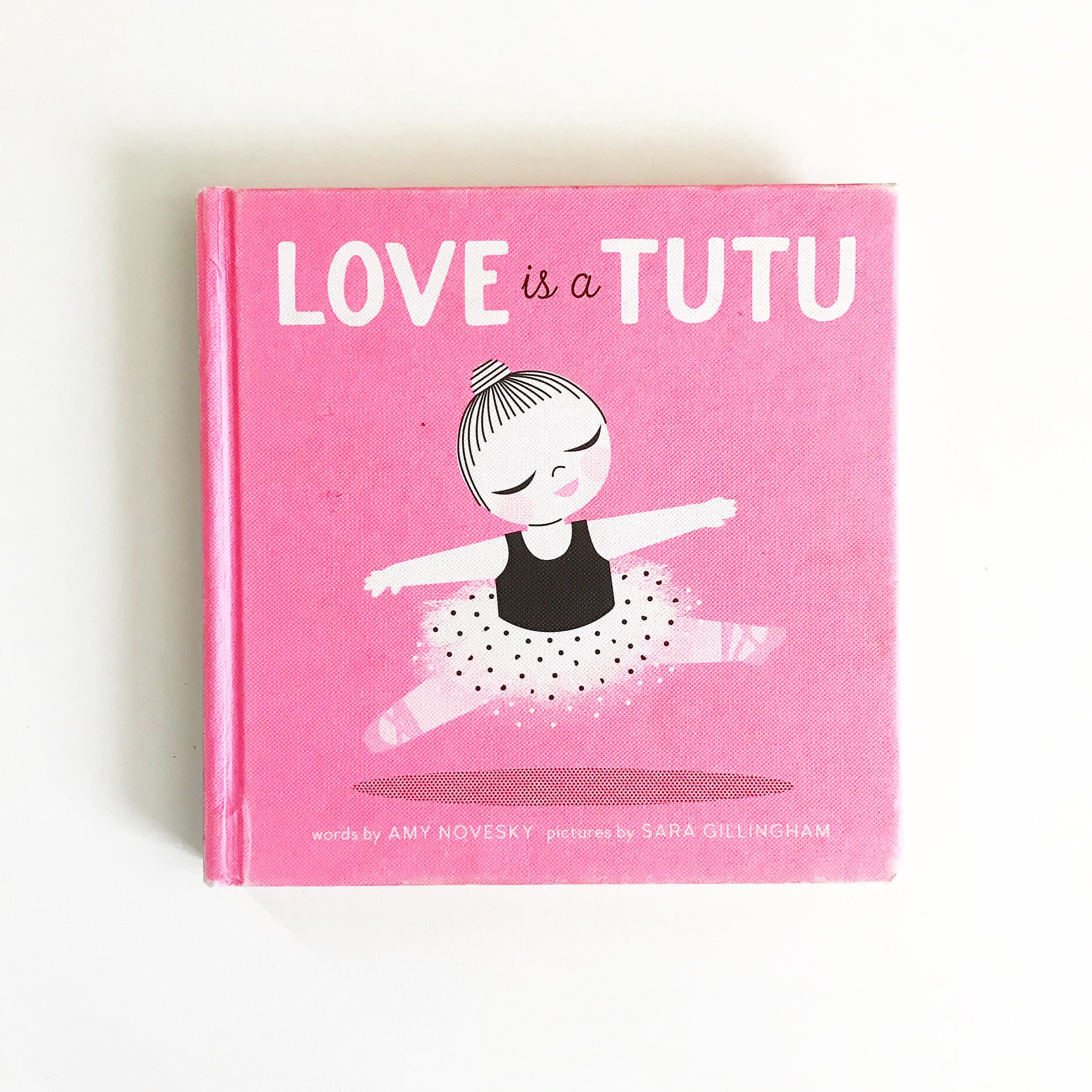 Love is a Tutu   Perfect for your little dancer.