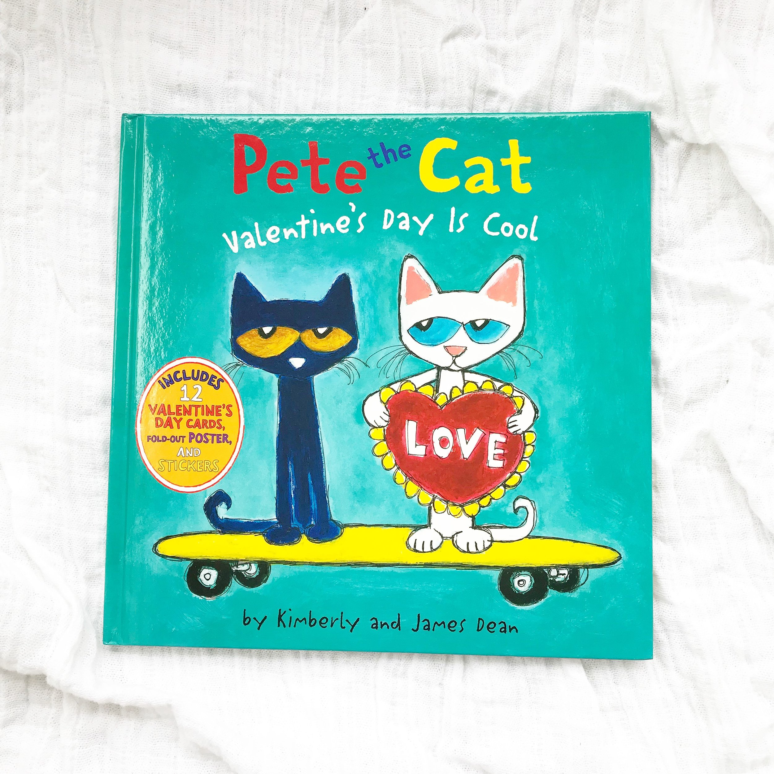"Pete the Cat: Valentine's Day is cool   Pete the Cat is one of my favorite series but if you don't have any of these yet start with a classic like ""In my White Shoes"""