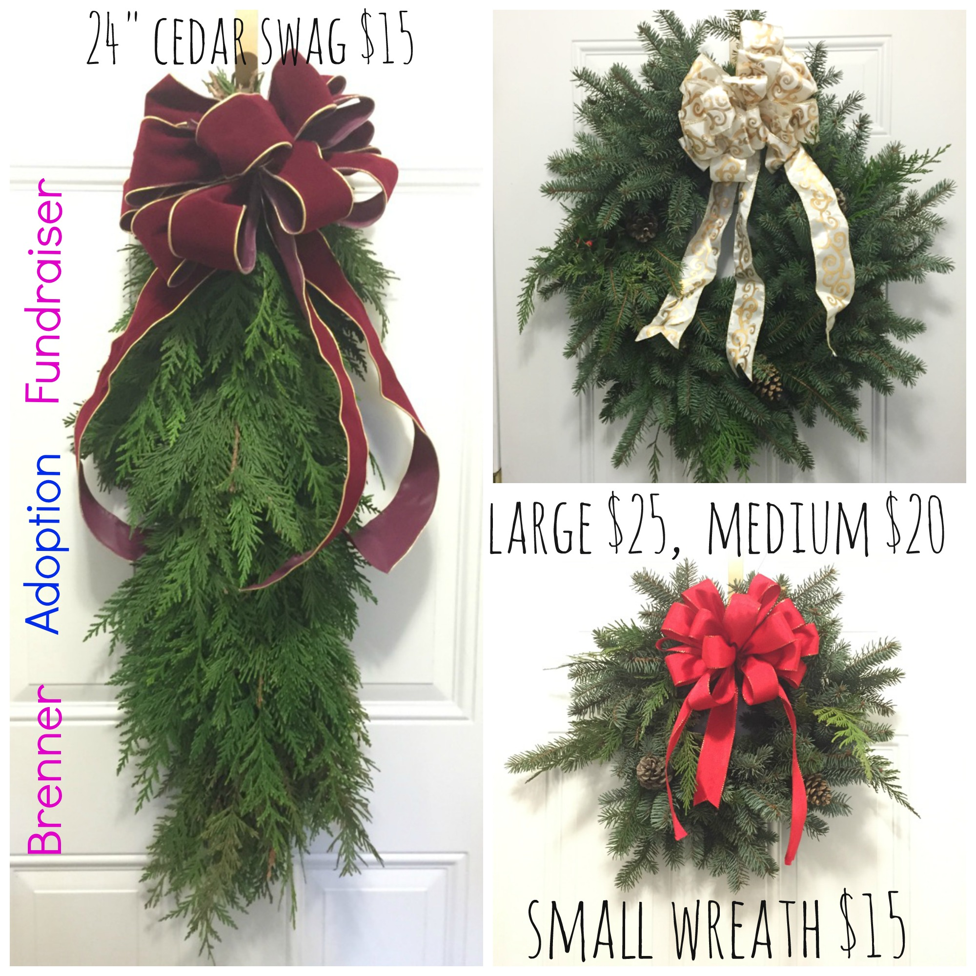 wreath adoption fundraiser image
