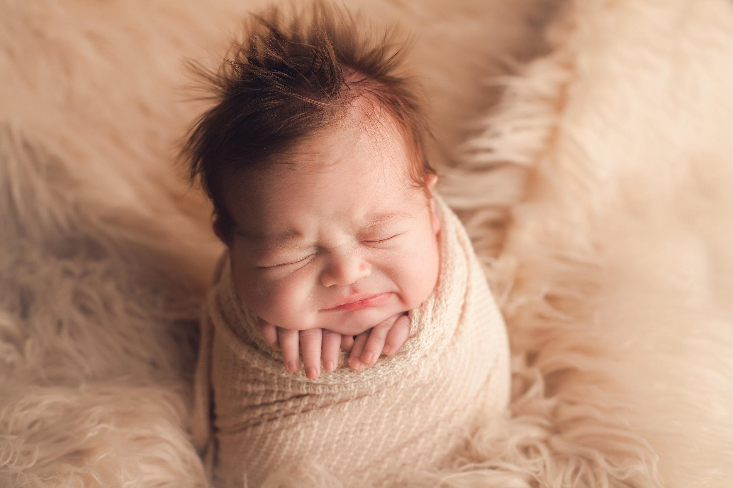 amazing photo of newborn Ira by  Samantha Short Photography