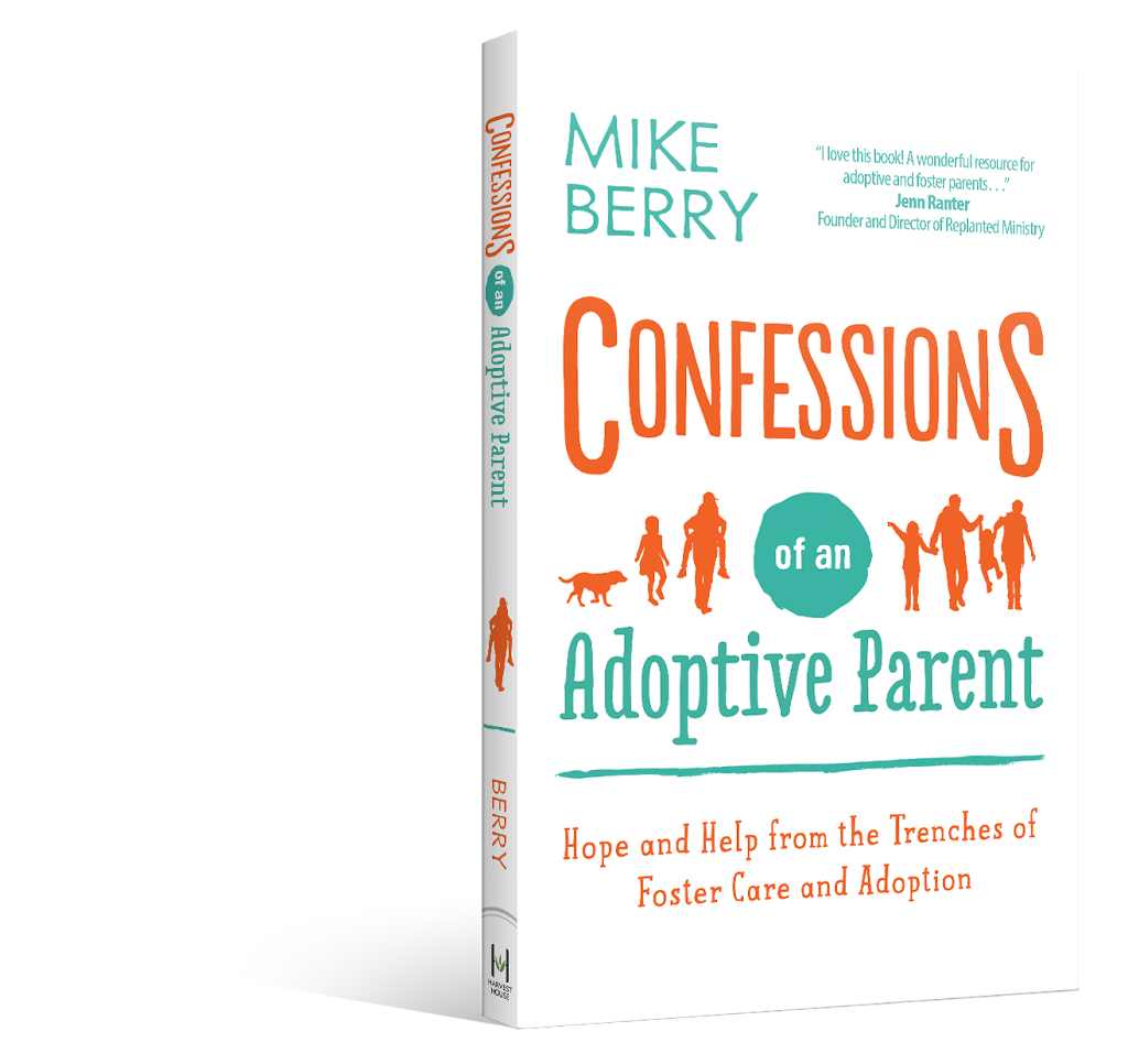 Confessions of an adoptive parent, adoption book