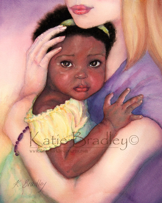 transracial adoption art
