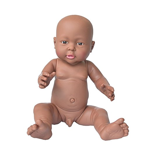 black african american boy doll