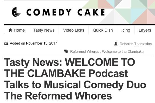 Comedy Cake
