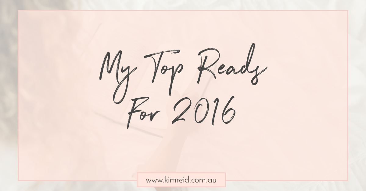 My Top Reads For 2016