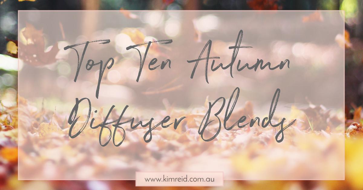 Top Ten Autumn Diffuser Blends