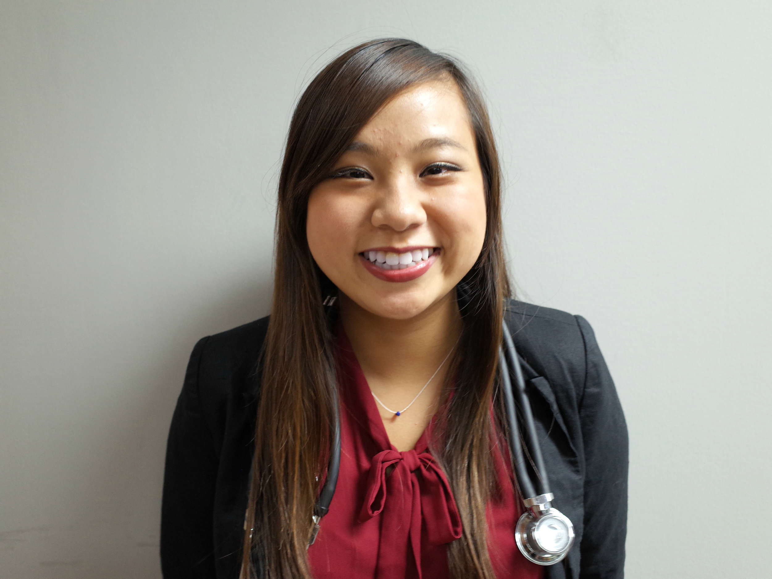 Katherine Lu    Major: Biological Sciences Career Goal: Cardiologist
