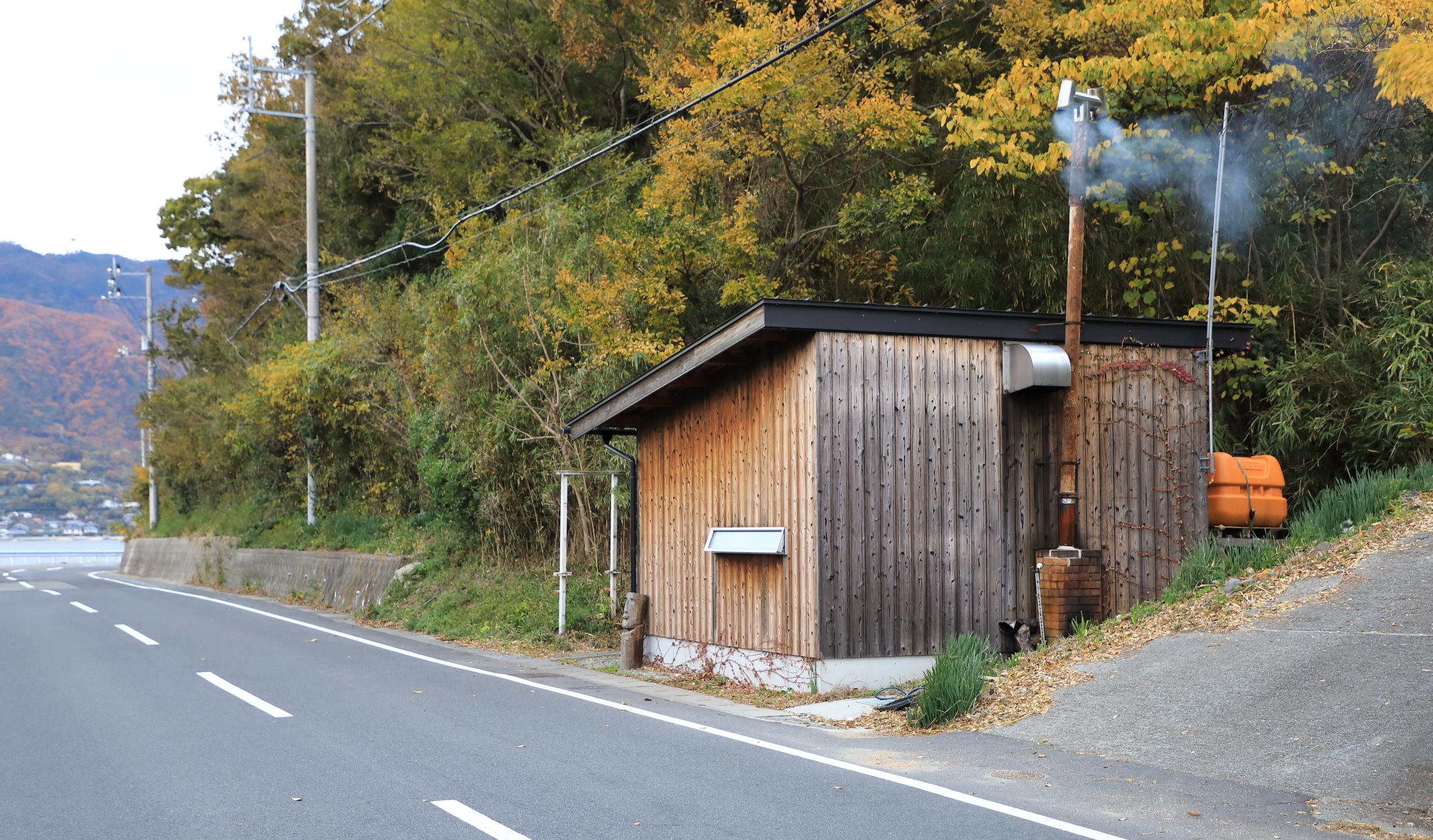 The salt boiling house of Namihanado.