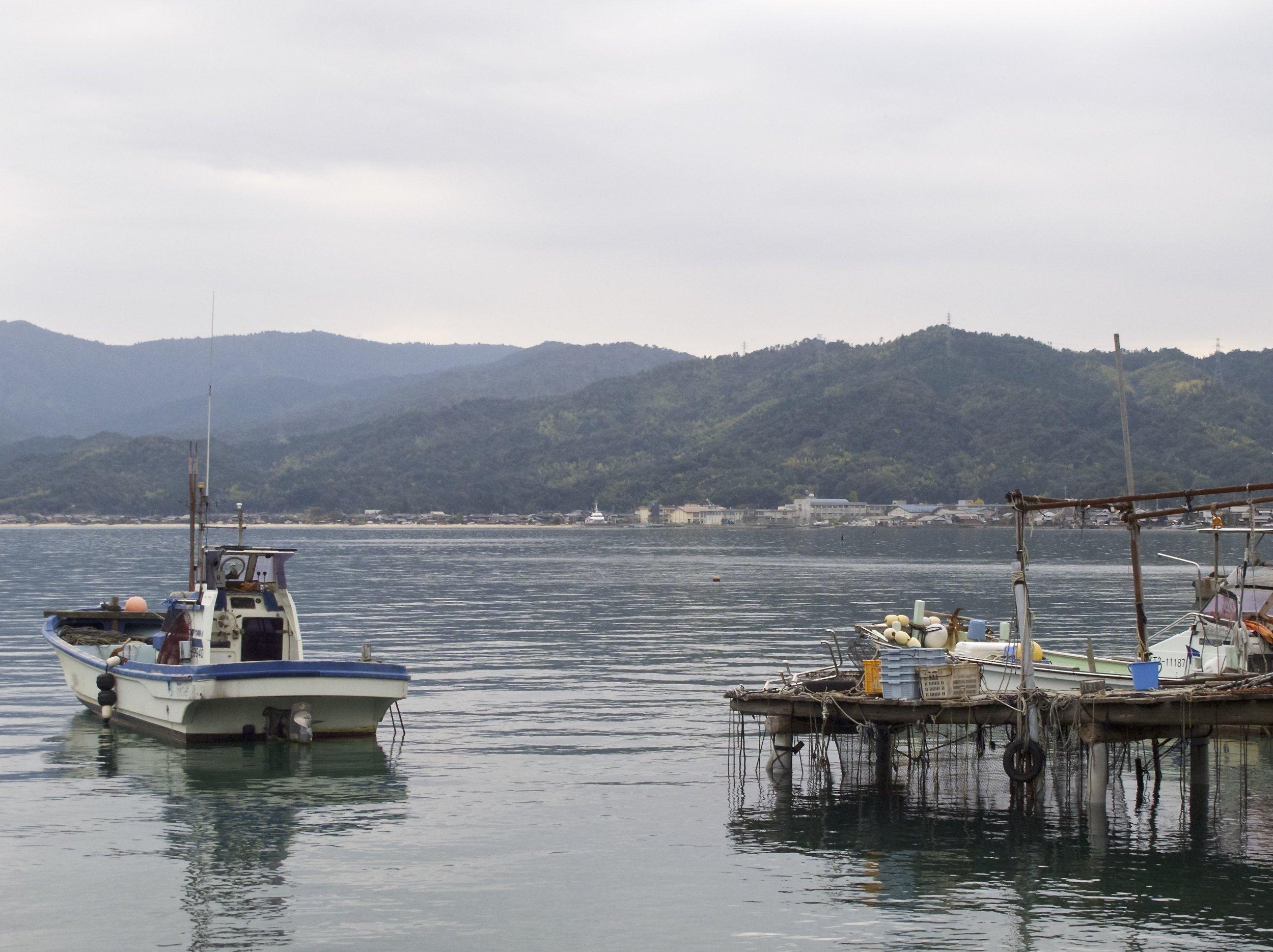 Kunda Bay, where Iio Jozo is located, is a quiet corner of Kyoto prefecture's scenic coastline.
