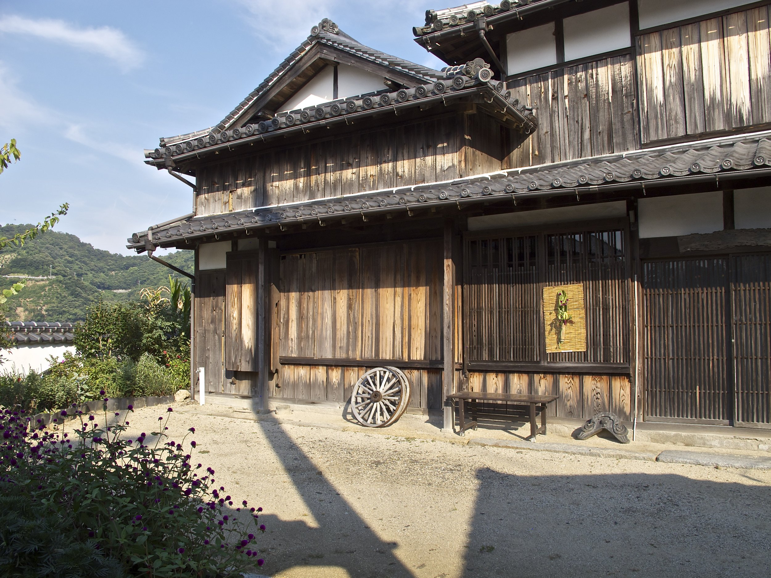 One of the Edo-era merchant trading houses in Mitarai where the overthrow of the Tokugawa Shogunate was plotted.
