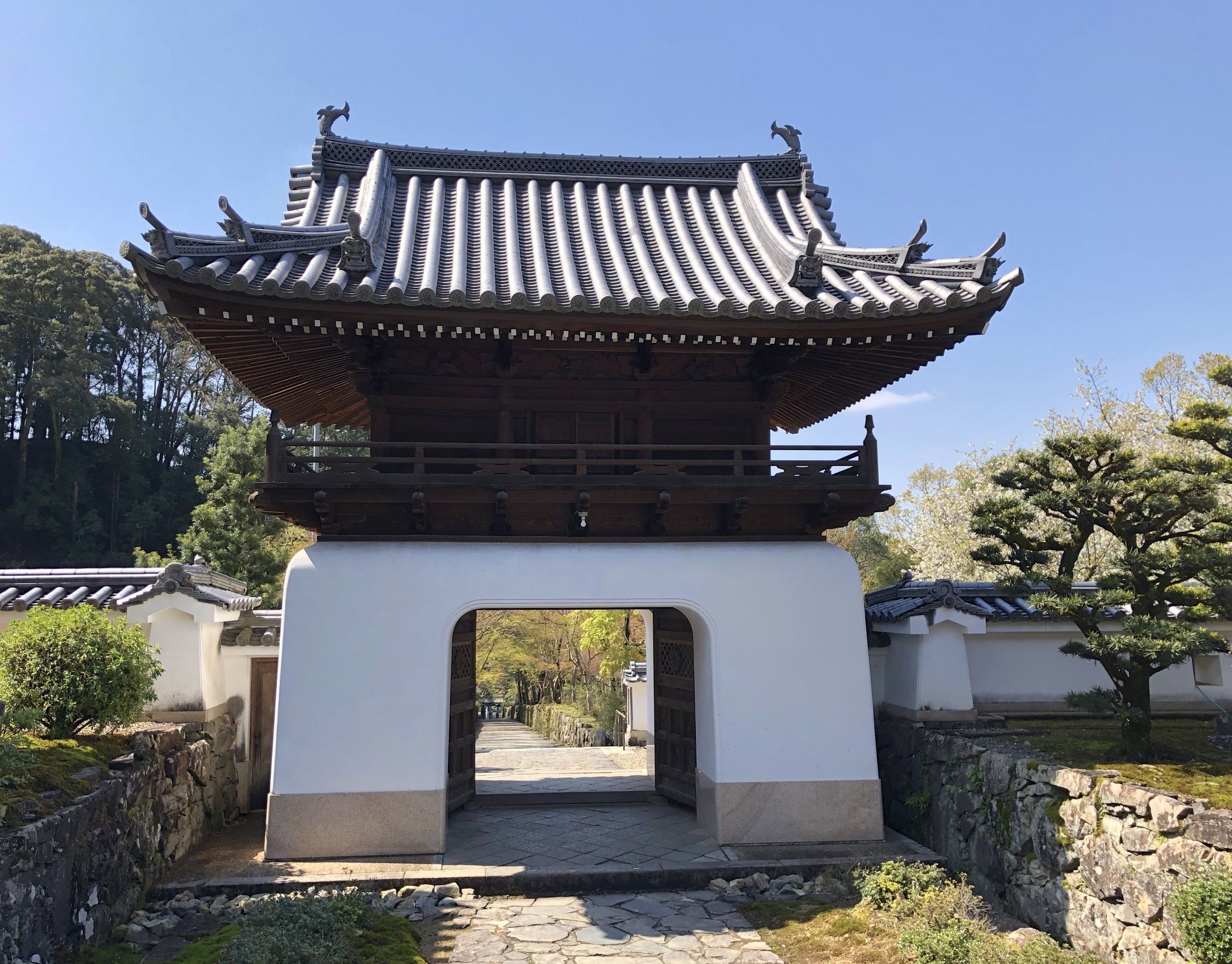 The Ming style second gate entry to Kosho-ji.
