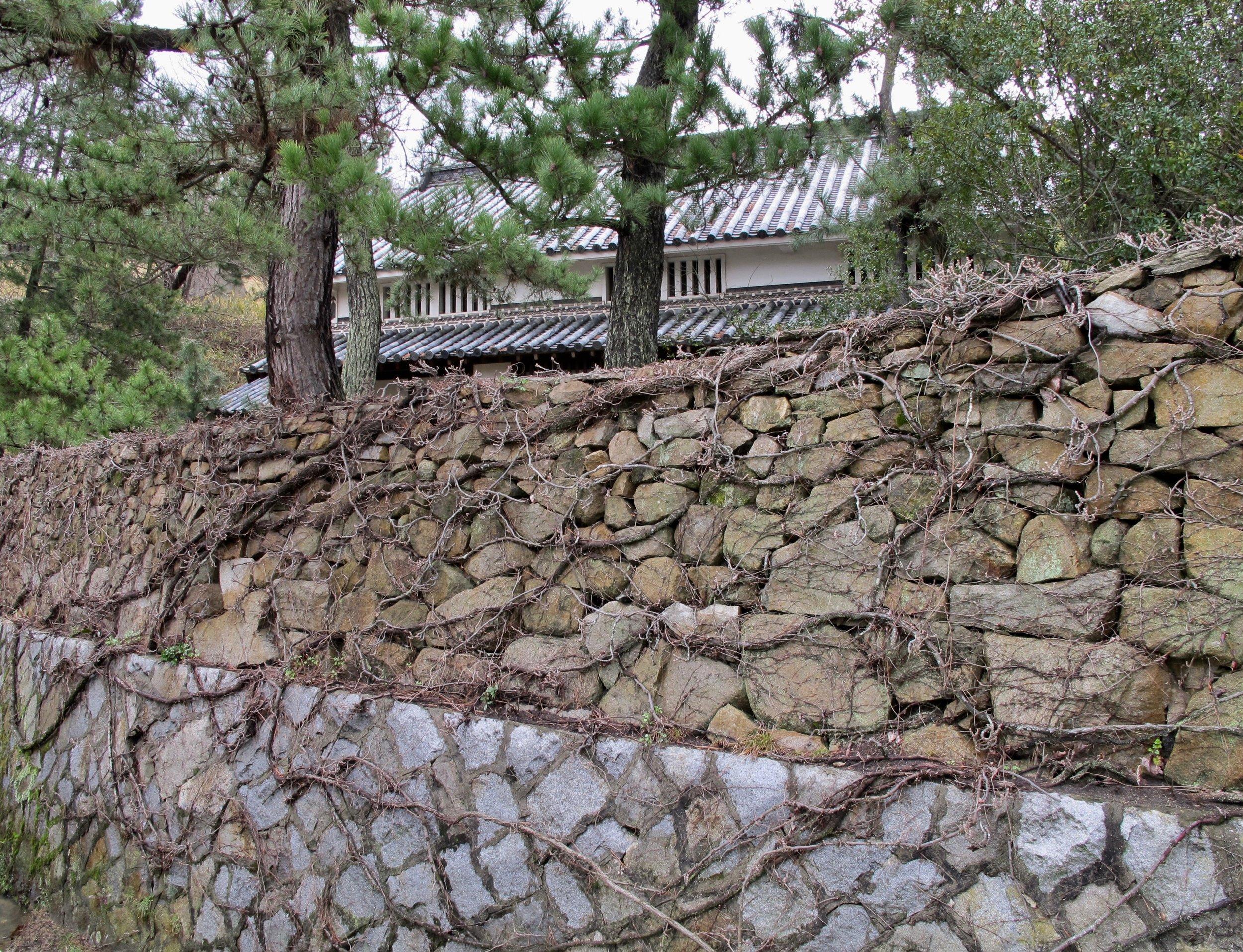 Isamu Noguchi's house on the property.
