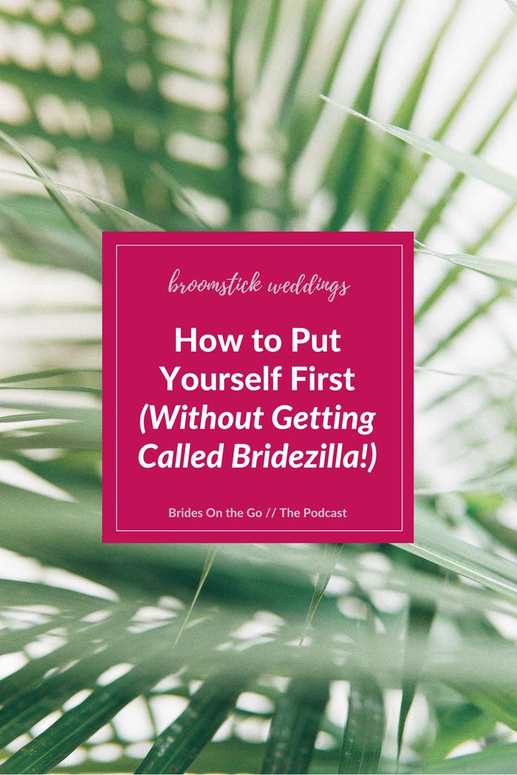 bride self care peace meditation bridezilla