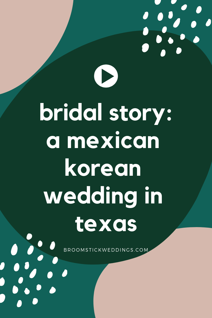 Mexican Korean Wedding Broomstick Weddings