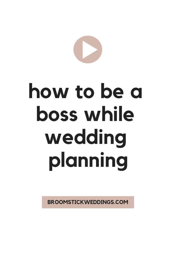 How To Be A Boss While wedding Planning Setting Goals Wife