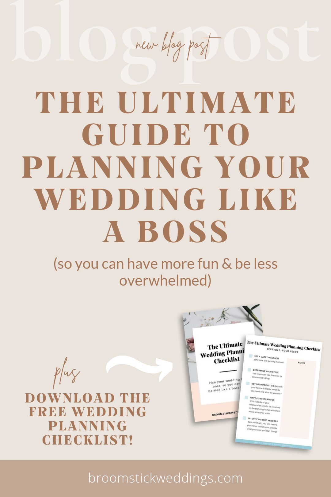 The Ultimate Guide To Planning Your Wedding Like a Boss -- Wedding Organization & Productivity
