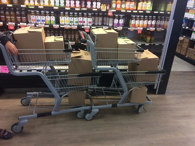Just a little delivery to Saltspring's Country Grocer... Saltspring customers are the best!!! #ilovesaltspring #saltspringkombucha #saltspringisland #saltspring