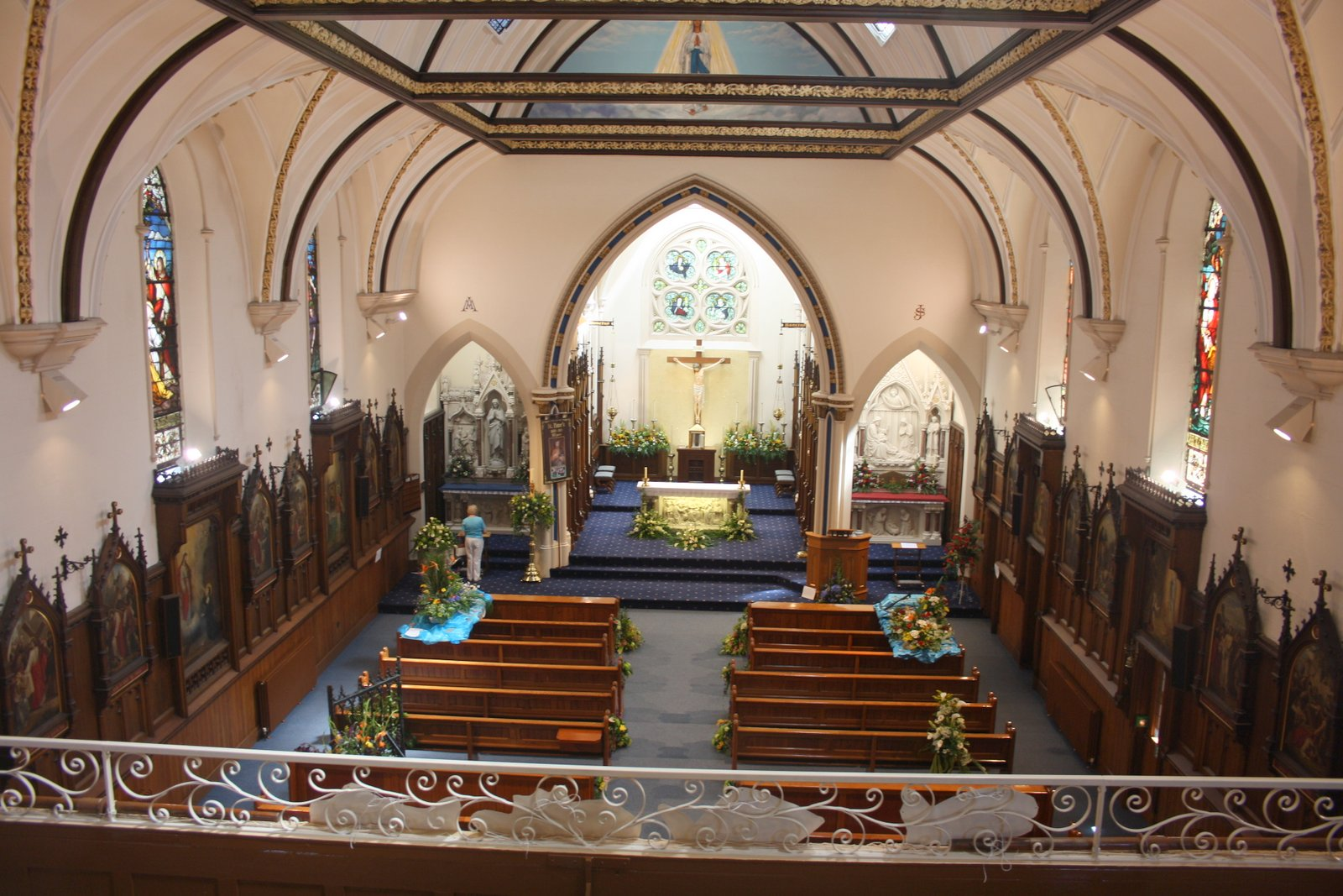 Inside of St Peter's Catholic Church, Lytham