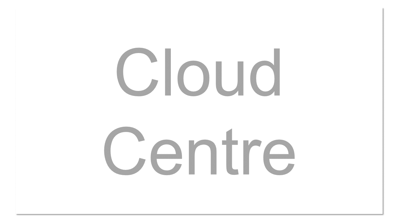 """A data centre in the """"cloud"""" utilising standards-based virtualized components as a data centre-like infrastructure."""