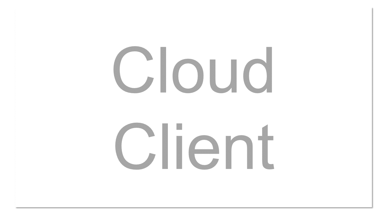 Computing device for cloud computing. Updated version of thin client.