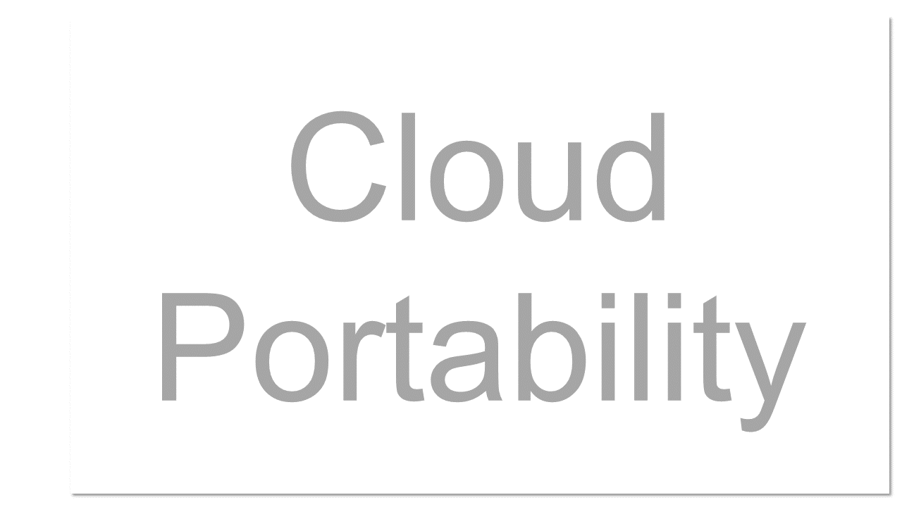 The ability to move applications (and often their associated data) across cloud computing environments from different cloud providers, as well as across private or internal cloud and public or external clouds.