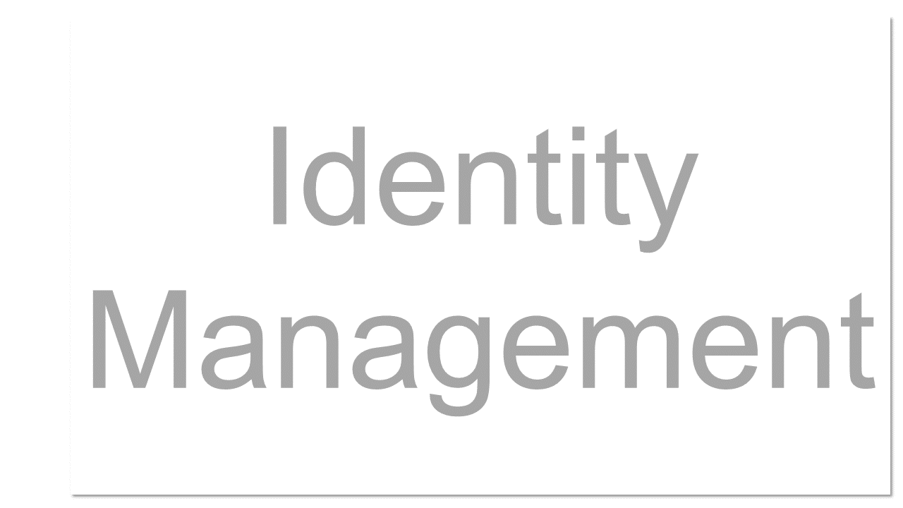 Managing personal identity information so that access to computer resources, applications, data, and services is controlled properly.