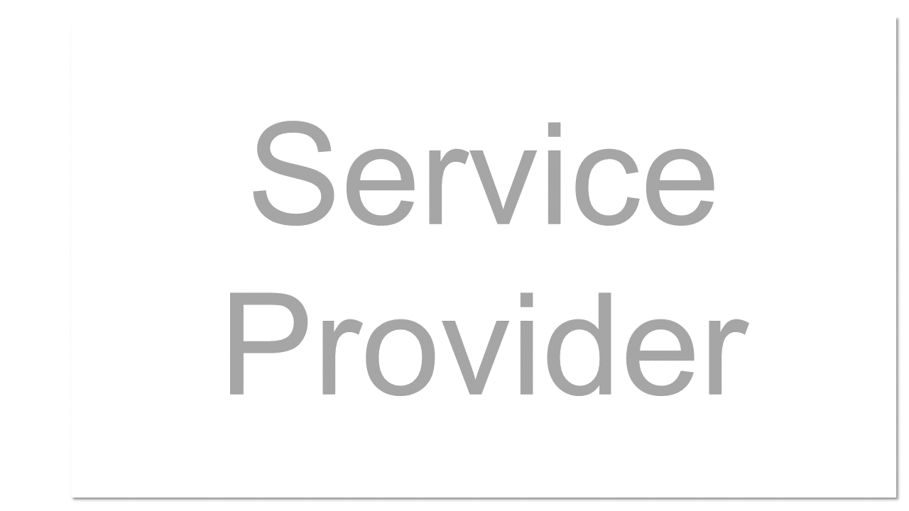 The company or organization that provides a public or private cloud service.