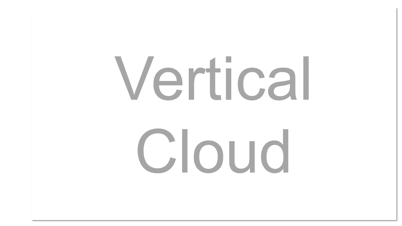 A cloud computing environment that is optimized for use in a particular industry, such as health care or financial services.