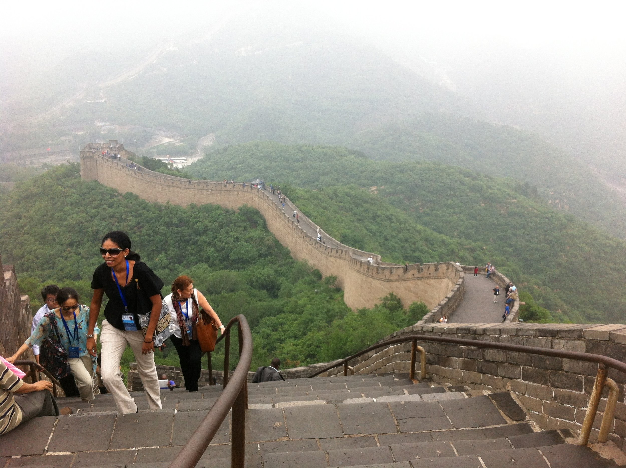 This was actually the least crowded photo I could get at Badaling. It took me a long time to get a picture with so few people.
