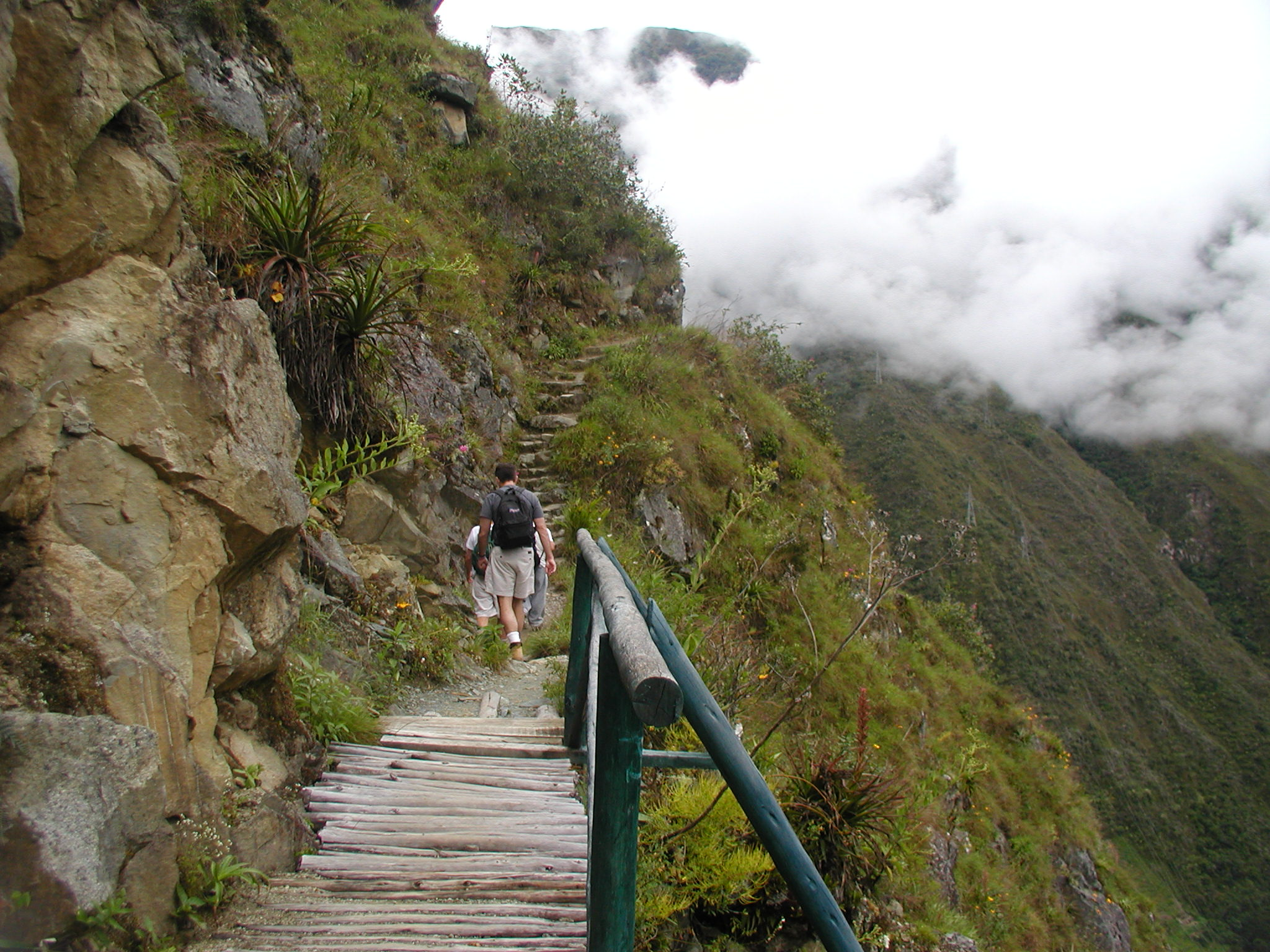Hiking into the clouds..jpg