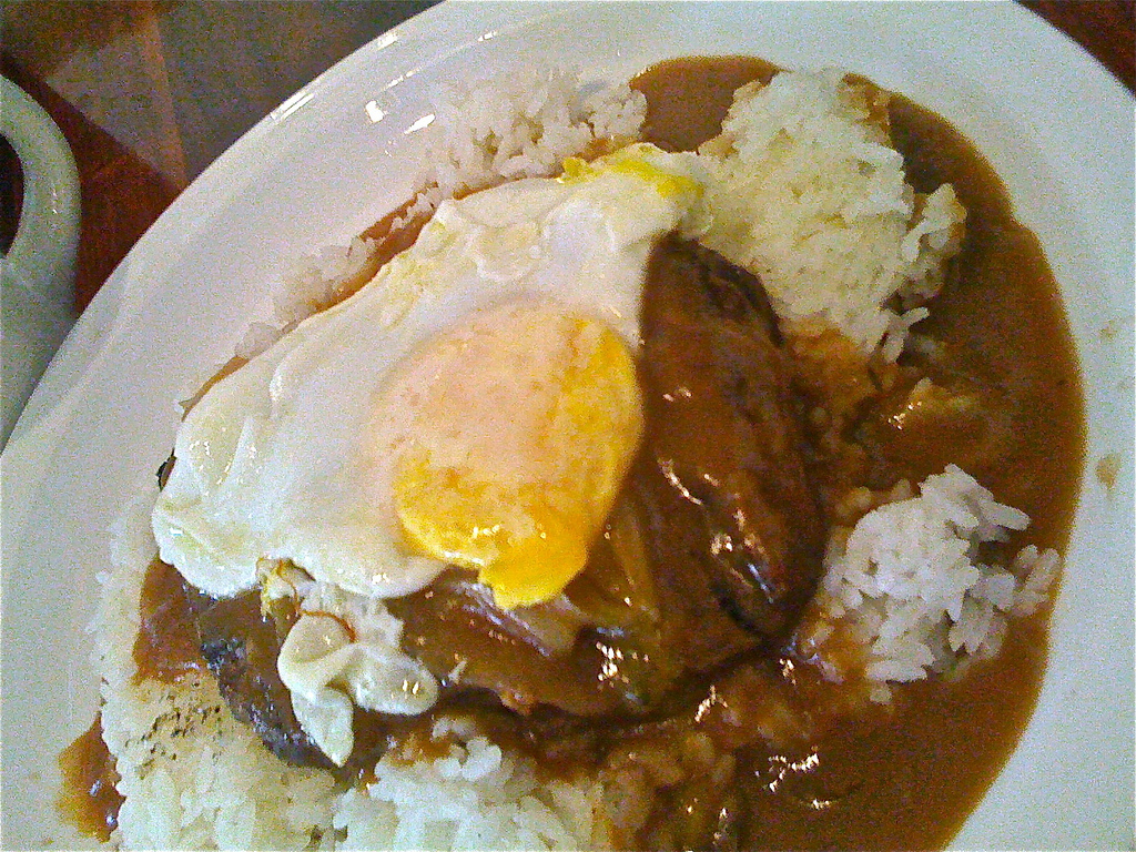 Traditional Loco Moco   photo licensed through creative commons
