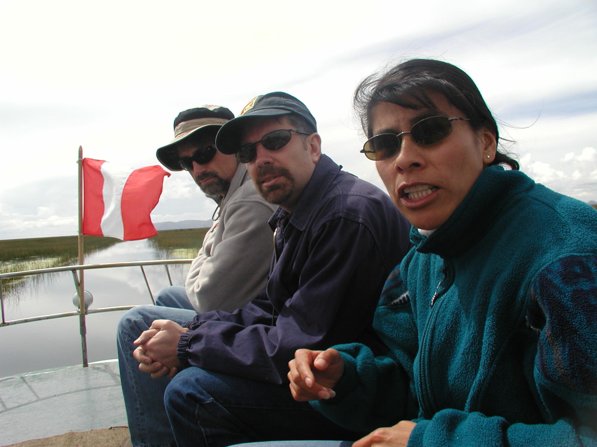Larry, John and Charo.jpg