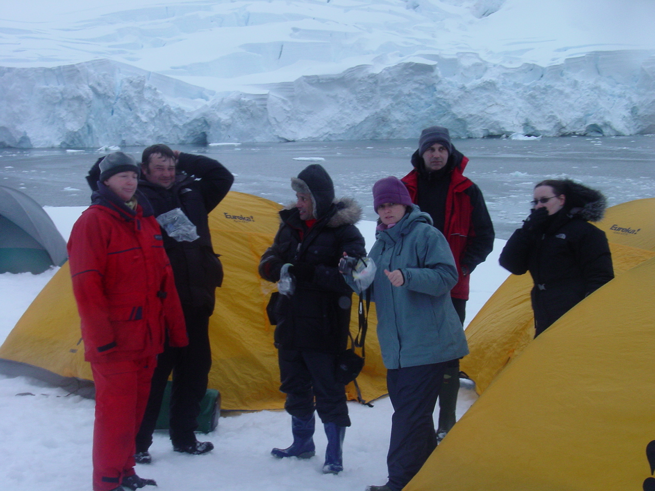 Perhaps you want to camp on the ice in Antarctica like we did? That could fund life-saving cancer research!