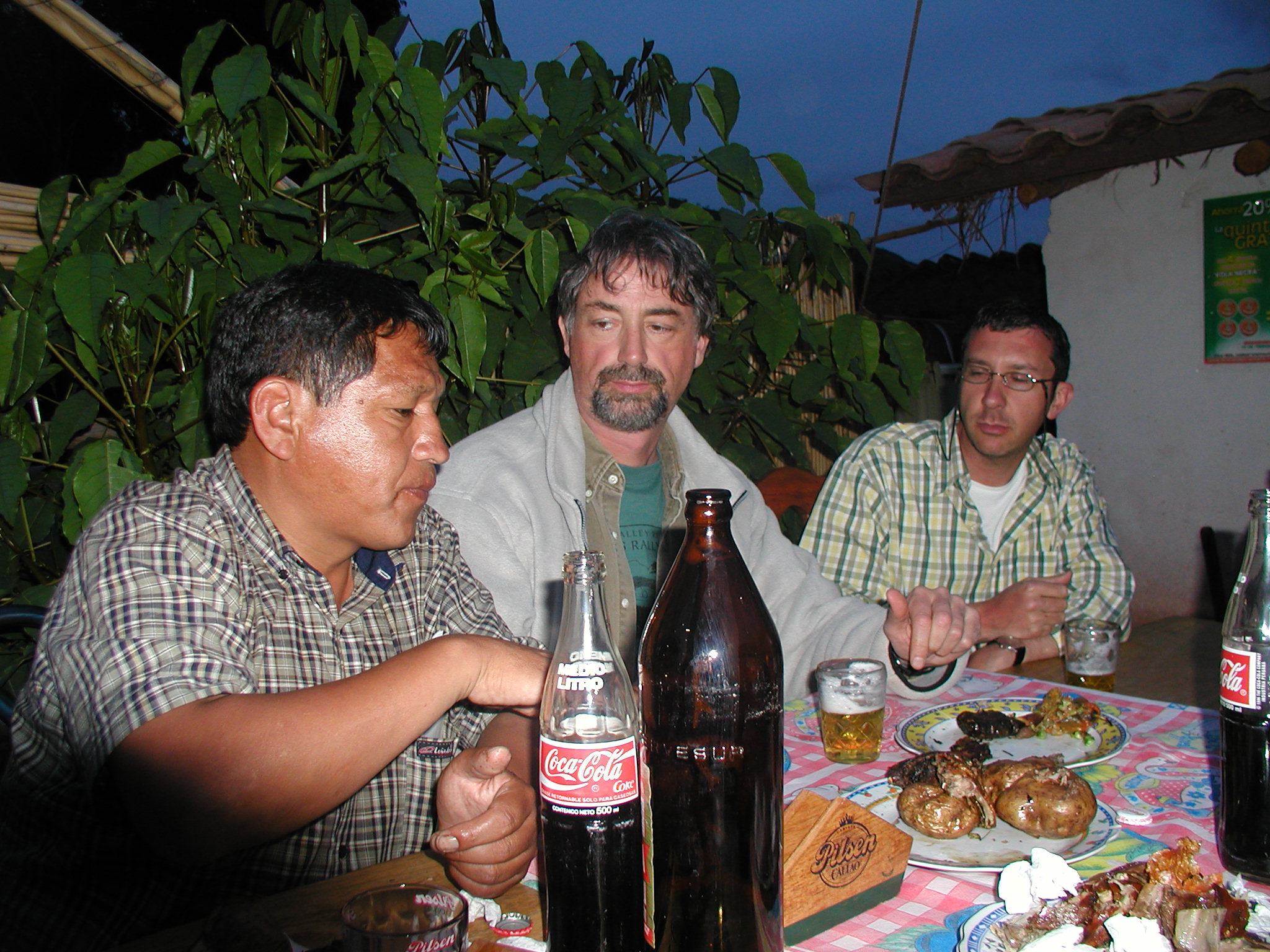 On a small group tour to Bolivia and Peru, our local guide took us to a roadside barbecue, where we ate guinea pig with the locals!