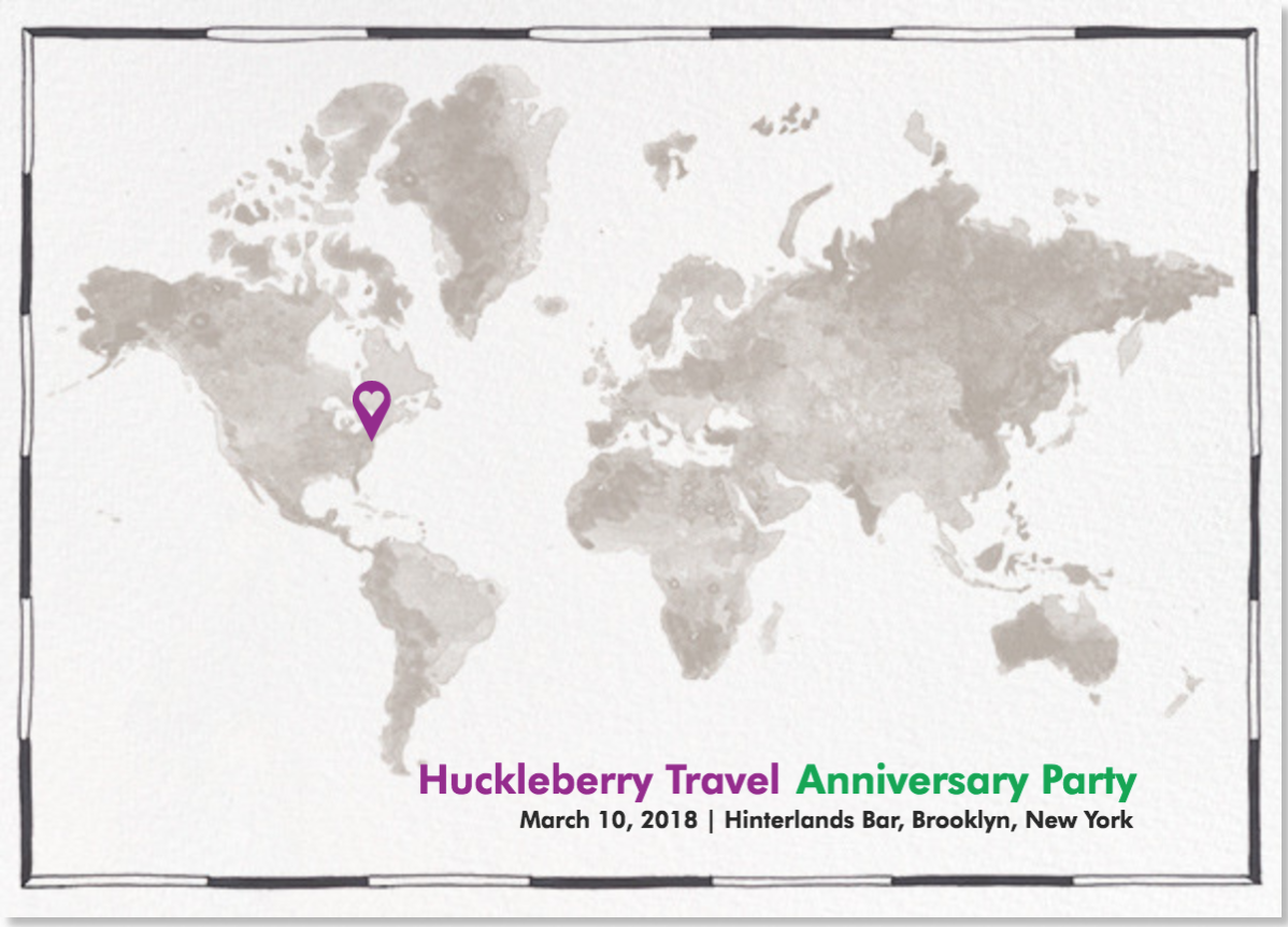 Huckleberry Travel Anniversary Party