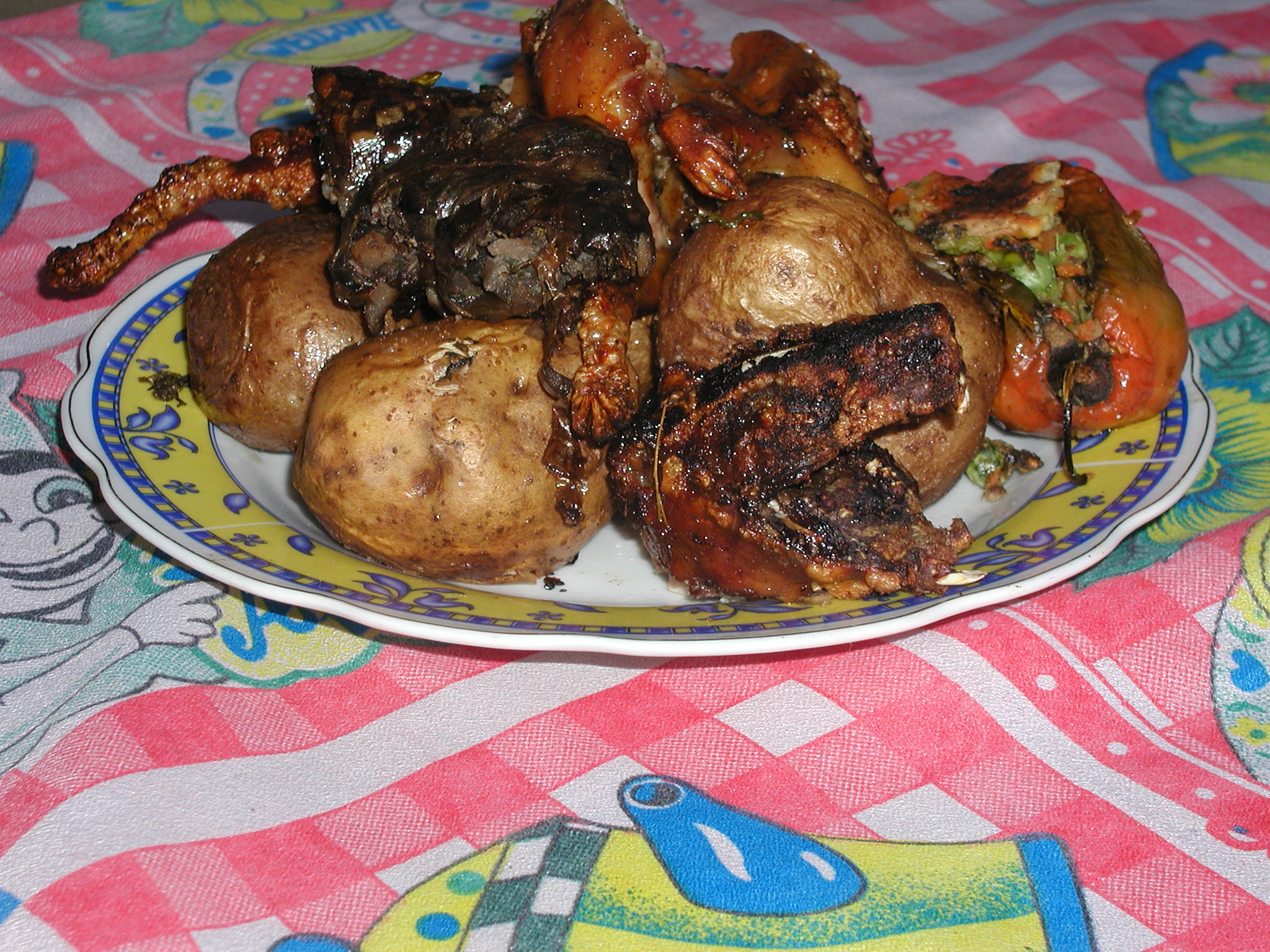 Our meal of guinea pig..jpg