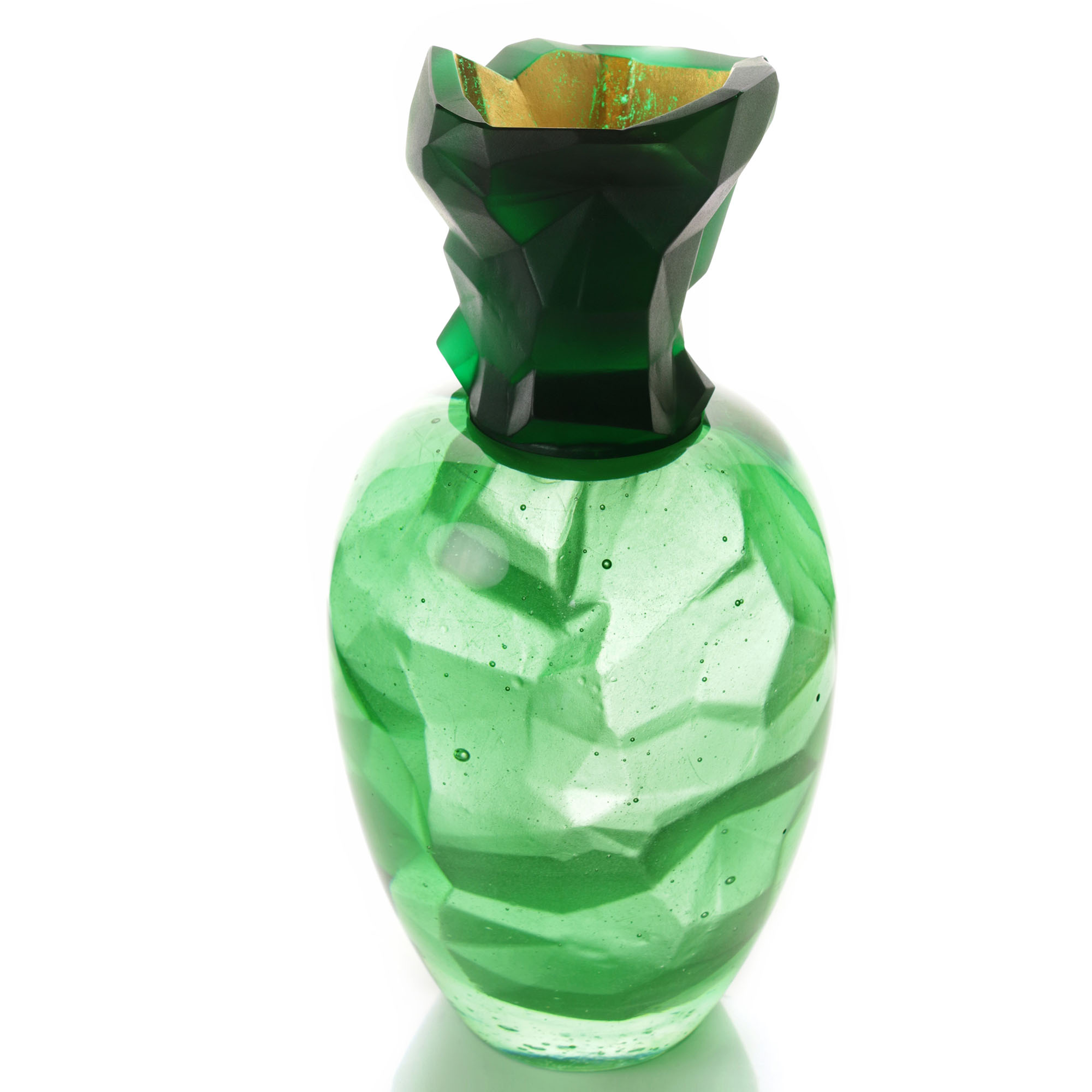 Emerald Geode   2017   Angela Jarman
